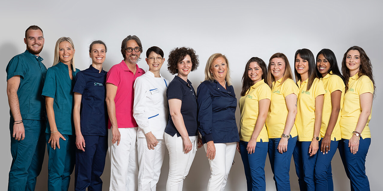 Team studio dentistico Spezzapria-Zancan